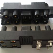 供应电源连接器 热插拔端子 机柜连接器 8个电力24个信号