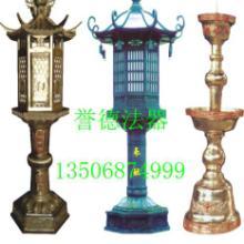 供应五供锡器佛门寺庙供桌上的五供锡器