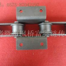 供应双节距大滚子弯板输送链条图片
