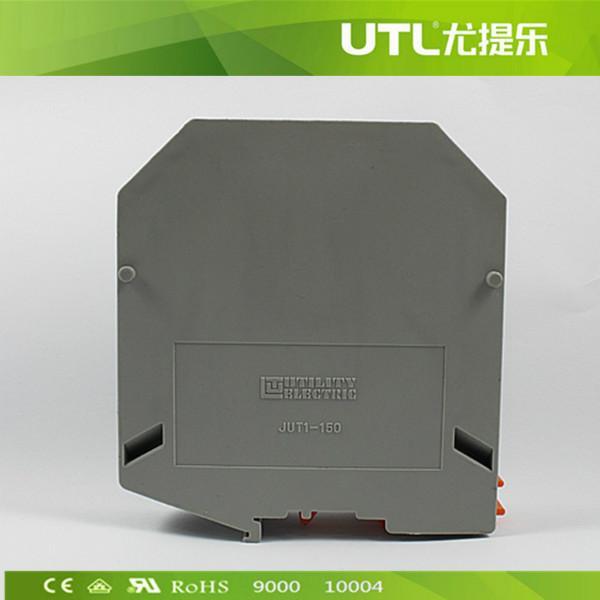 厂家供应建筑接线端子 JUT1-150电源接线端子 导轨接线端子
