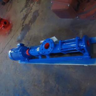 旋泉G35-3螺杆泵上海污泥螺杆泵厂图片