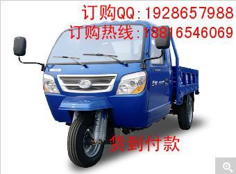 汽车供应商 生产福田五星atx3000自卸三轮汽 高清图片