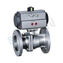 供应气动O型切断球阀厂家,无锡科莱恩流体控制设备有限公司图片
