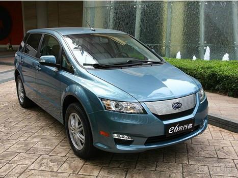 比亚迪e6先行者纯电动轿车价格图片高清图片
