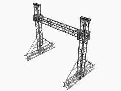 建筑设备-24米龙门架生产厂家 图片