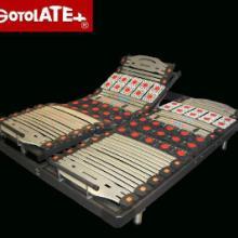歌蕾丝/德国OKIN电机整体框双人分体升降电动床架180x200-L批发