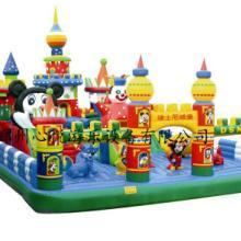 供应迪士尼充气城堡现货120平方XY1688儿童充气跳床蹦蹦床价格图片