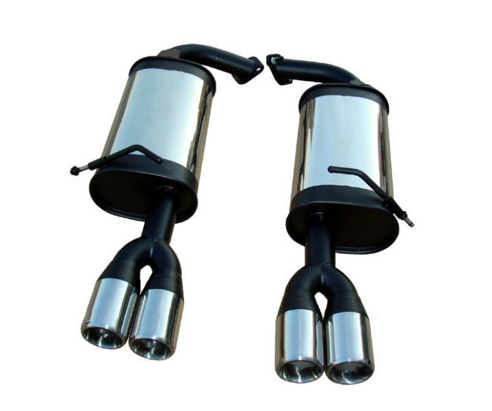 马自达6改装排气管消音器跑车声音图片高清图片
