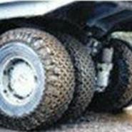 机械工程车轮胎保护链配件图片