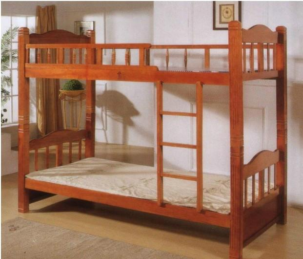 双层床儿童床 双层床儿童床供货商 员工宿舍床 实木学生双层床 儿童子