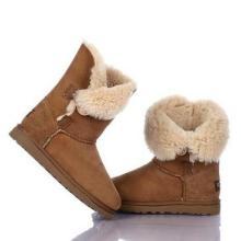 微信一手货源,雪地靴工厂批发 真皮毛一体鞋 保暖鞋 棉鞋