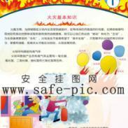 火灾事故自救互救方法挂图-AN2289图片