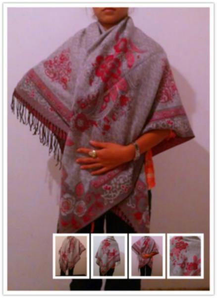 供应女式披肩羊绒披肩女式方巾