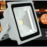 LED投光灯户外泛光灯楼道灯车库灯红外线人体感应灯具 20W30W5
