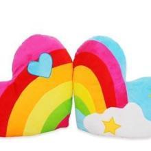供应衡水毛绒玩具靠垫抱枕价格批发