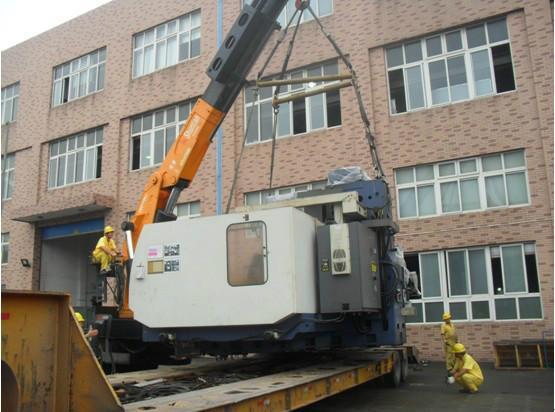 供应宁波专业设备搬运机器移位大件设备起重吊装加工中心搬运
