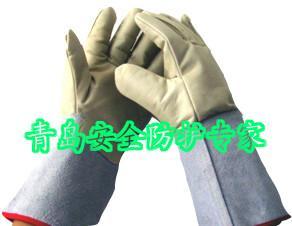 供应防寒液氮手套超低温液氮防寒防护手套 35cm