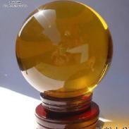 透明水晶球图片