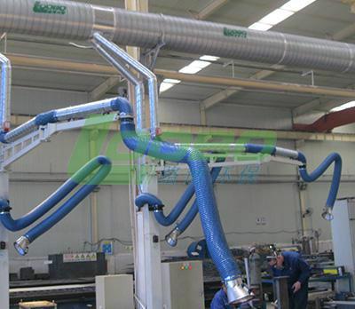 供应路博LB-JC加长延伸吸气臂柔性吸气臂工业排烟管道