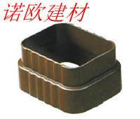 诺欧供应无缝雨水管铝合金成品檐沟,金属雨水管批发