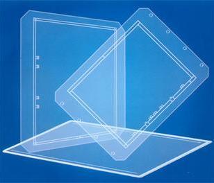 光学玻璃曝光机玻璃环形玻璃图片