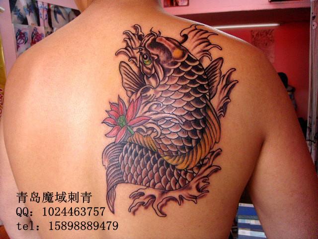 招财鲤鱼纹身厂家,招财鲤鱼纹身公司,招财鲤鱼纹身供应商