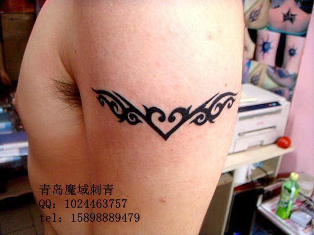 臂环纹身胳膊纹身青岛纹身图片|臂环纹身胳膊纹身图片