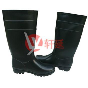 供应食品鞋上海雨鞋批发黑色男式雨靴劳保鞋食品雨靴胶鞋水鞋