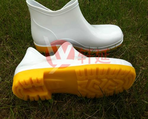 食品专用白雨鞋雨靴批发品质优良耐磨耐用