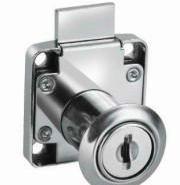 小型抽屉锁136黑色镀鉻图片