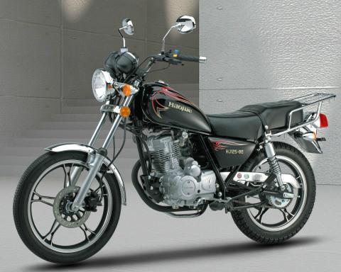 豪爵hj1258e摩托车