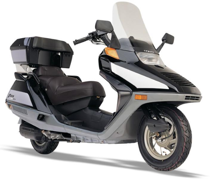 供应全新原装春风大绵羊 至尊版 cf250t f款 进口踏板摩托车图片