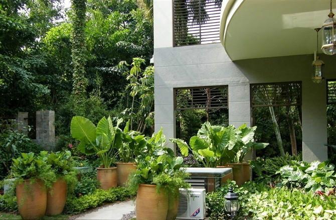 考试德阳景观生态园德阳房屋设计师供应德阳兰庭园林花园彩铅园林设计图图片