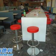 方形快餐厅茶几厂家图片
