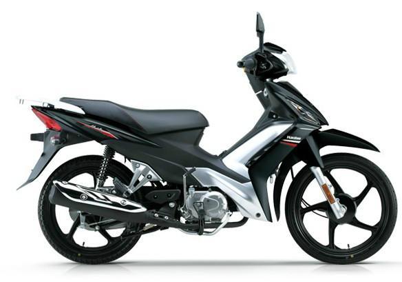 最新豪爵110弯梁摩托车 价格 和耗油量