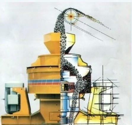 供应冲击式破碎机 新型制砂机 高效制沙设备