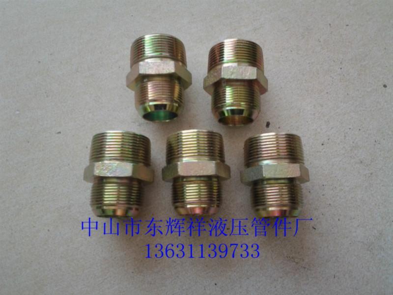 报价 管件/供应广东直角双外螺纹接头直通外螺纹图片