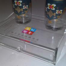 供应有机玻璃抽屉式收纳盒