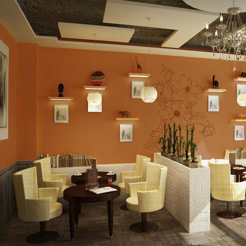 简欧咖啡厅餐桌椅厂家简欧咖啡厅图片