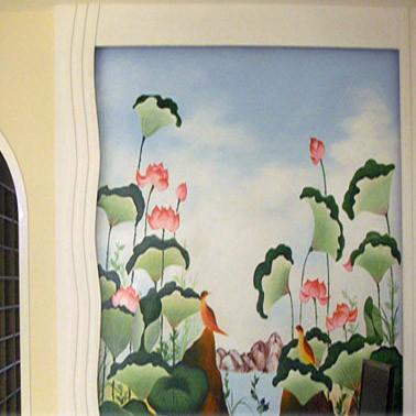 画墙绘,写意画彩绘 [详情] 更多墙绘中国-墙绘中国花鸟写意画 中国