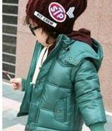 韩版超酷高档连帽儿童羽绒服品牌图片