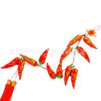 绳绣大辣椒挂件新年新款春节用品