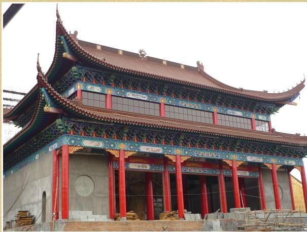 锦州怀化古建筑瓦机价格图片