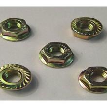 供应碳钢镀锌法兰面螺母/碳钢镀锌法兰面螺母批发批发