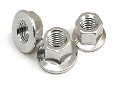 供应不锈钢法兰面螺母DIN6923A2-70