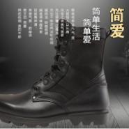 军警靴图片