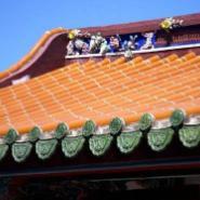 供应宜兴紫砂庙宇瓦价格、无锡双筒瓦价格,宜兴竹筒瓦厂家宜兴陶瓷瓦