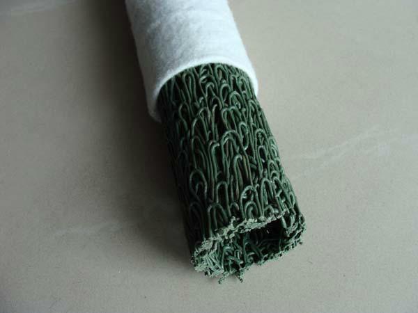供应重庆厂家生产价格规格塑料盲沟滤水管透水管包无纺布排水管