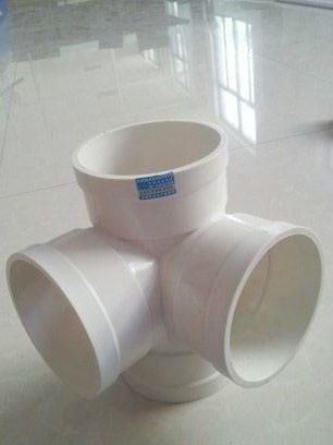 供应PVC立体四通管件图片