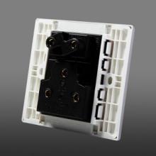 供应公牛墙壁开关插座面板16AG05Z227